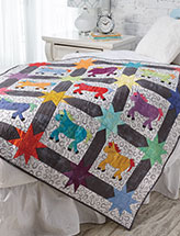 Horse of a Different Color Quilt Pattern