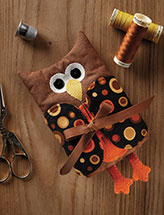 Owl Needle Holder Quilt Pattern