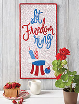 Let Freedom Ring Quilt Pattern
