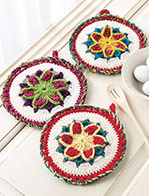 Star Pot Holders Crochet Pattern