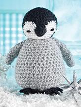 Fuzzy Baby Penguin Crochet Pattern