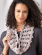 Bobbleton Cowl Crochet Pattern