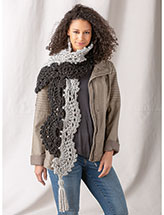 Pathways Scarf Crochet Pattern