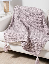 Simple Luxury Throw Crochet Pattern
