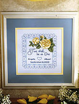 I Thee Wed Framed Keepsake