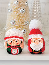 The Claus Couple Crochet Pattern