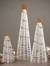 Lacy Trees Crochet Pattern