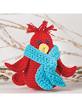 Snowbird Ornament Crochet Pattern