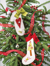 Winter Woolies Ornaments Quilt Pattern