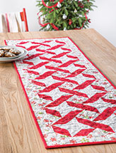 Christmas Runner Quilt Pattern.Quilted Table Runner Topper Patterns Quilting Downloads