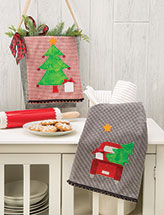 Getting Ready for Christmas Tea Towel Set Quilt Pattern