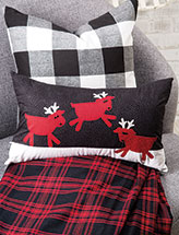 Reindeer Playday Bench Pillow Quilt Pattern