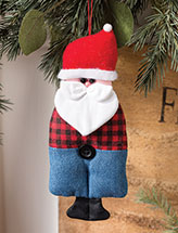 Farmer Santa Ornament Quilt Pattern