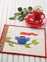 Merry Tweetmas Place Mat Quilt Pattern