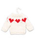 I Gave You My Heart Knit Pattern
