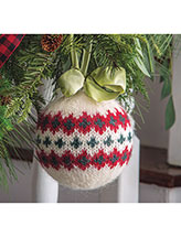Go Big Christmas Ball Knit Pattern