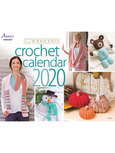 In A Weekend 2020 Crochet Calendar