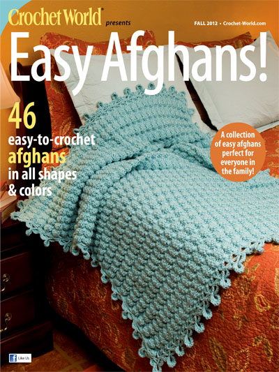 Crochet World Easy Afghans! Fall 2012