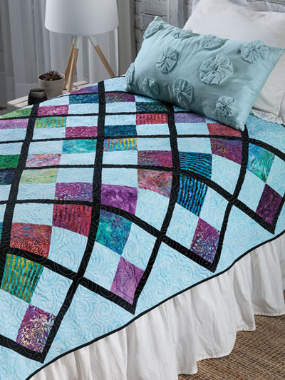 EXCLUSIVELY ANNIE'S QUILT DESIGNS: No Boundaries Quilt Pattern