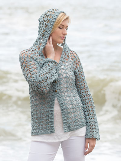 ANNIE'S SIGNATURE DESIGNS: One Wish Hoodie Crochet Pattern