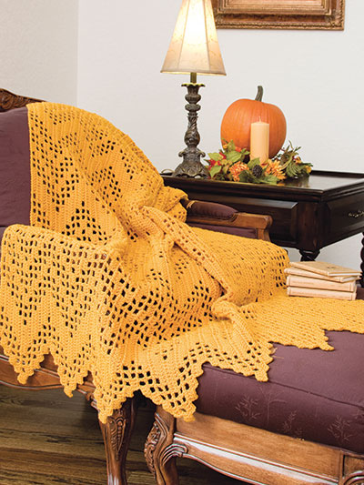 Filet Ripple Crochet Pattern