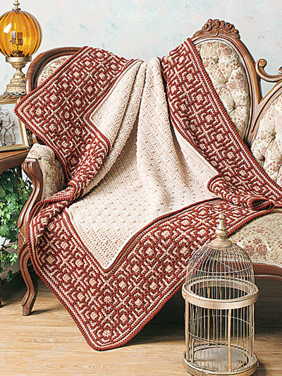 Alhambra Afghan Crochet Pattern