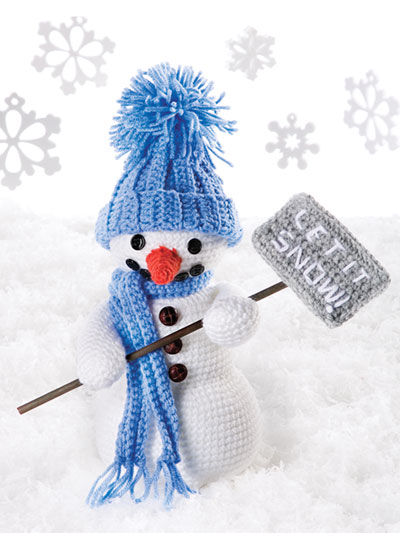 Friendly Snowman Crochet Pattern