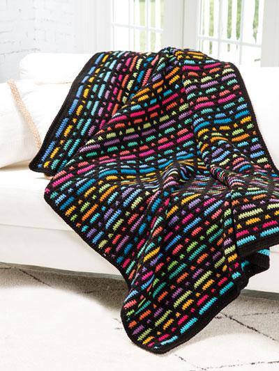 Diamond Overlay Scrapghan Crochet Pattern
