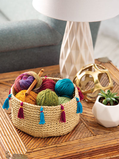 Boho Basket Crochet Pattern