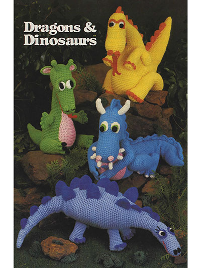 Dragons & Dinosaurs Crochet Pattern