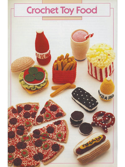 Crochet Toy Food Pattern