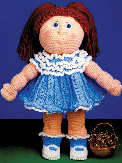 Debbie Ann & Party Dress Crochet Pattern