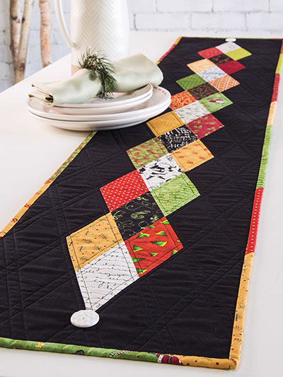 Holiday Diamonds Quilt Pattern