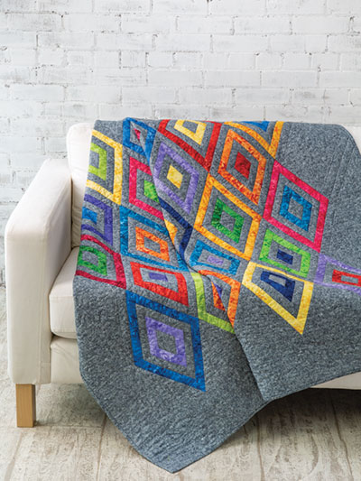 Winter Diamonds Quilt Pattern