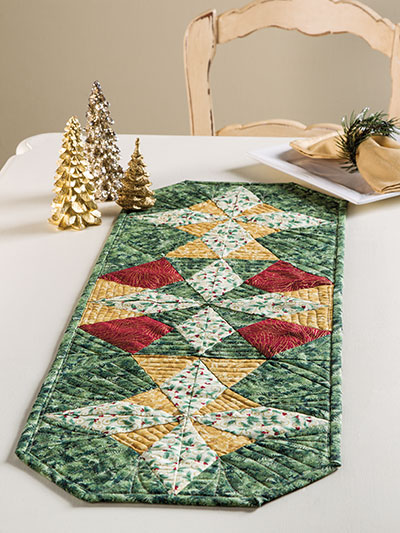 EXCLUSIVELY ANNIE'S QUILT DESIGNS: Christmas Star Table Runner Quilt Pattern