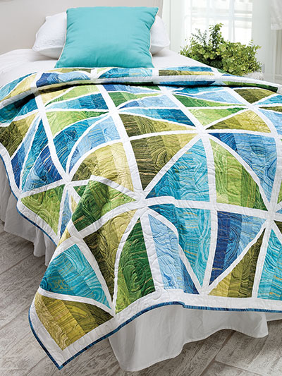 EXCLUSIVELY ANNIE'S QUILT DESIGNS: Prismatic Quilt Pattern
