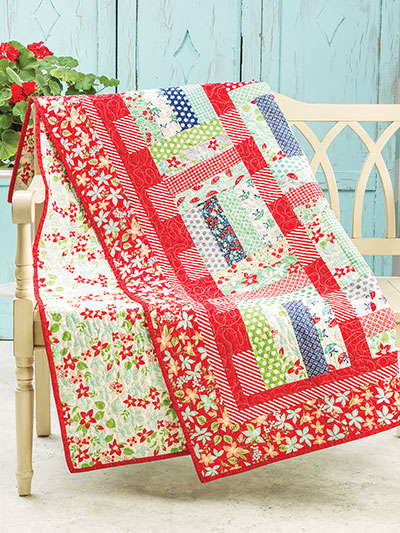 EXCLUSIVELY ANNIE'S QUILT DESIGNS: Jelly Bean Dreamin' Quilt Pattern