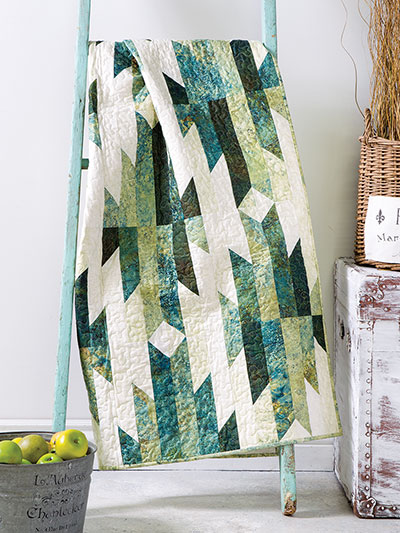 EXCLUSIVELY ANNIE'S QUILT DESIGNS: Aztec Trails Quilt Pattern