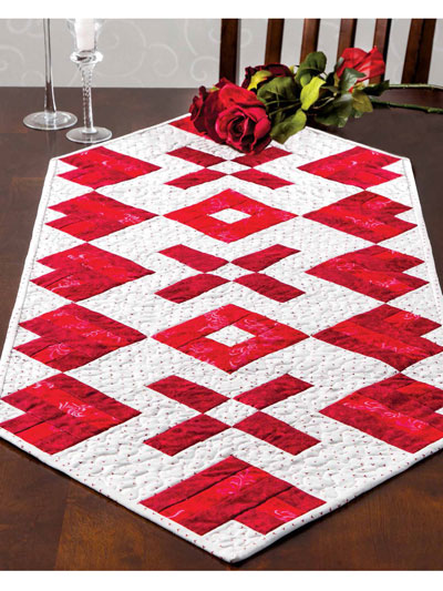 Hearts of Fire Quilt Pattern