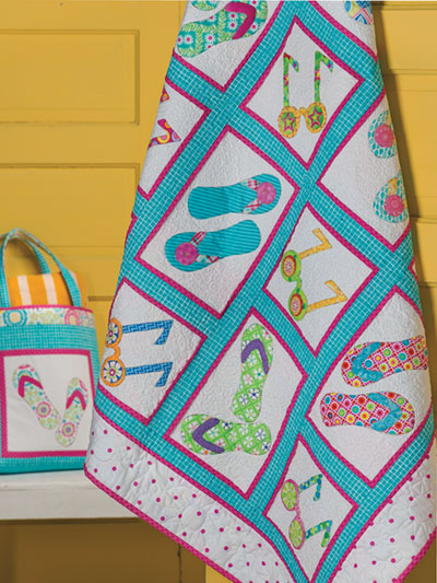Summertime Fun Beach Quilt Pattern