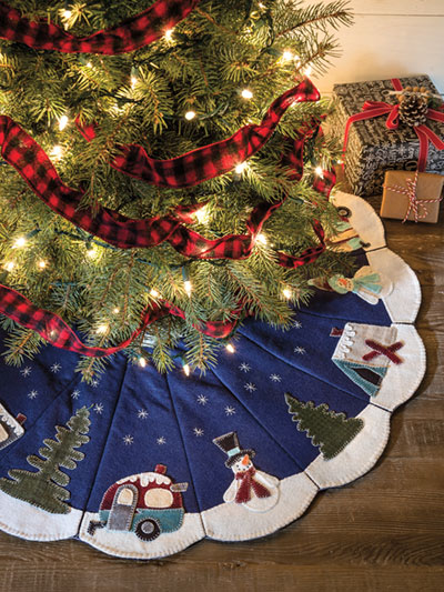 Tree Skirt Quilt Pattern