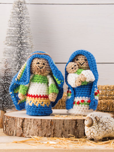 Whimsical Nativity Set Crochet Pattern