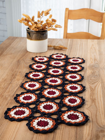Country Living Table Runner Crochet Pattern