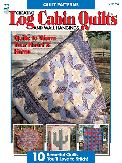 Creative Log Cabin Quilts & Wall Hangings Pattern
