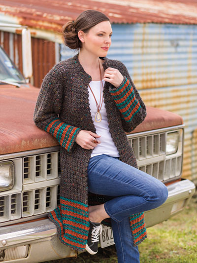 Cool Sophisticated Cardi Crochet Pattern