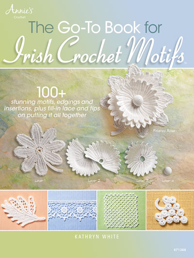 The Go-To Book for Irish Crochet Motifs Pattern