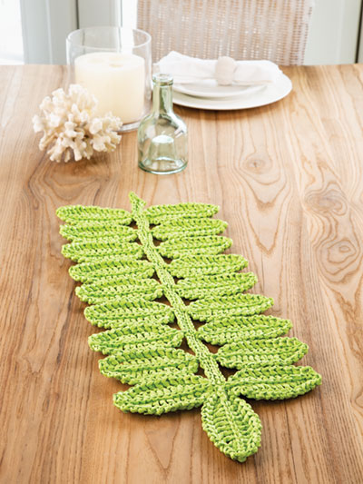 Tropic Island Table Mat Crochet Pattern
