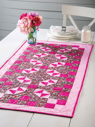 Garden Maze Table Runner Quilt Pattern