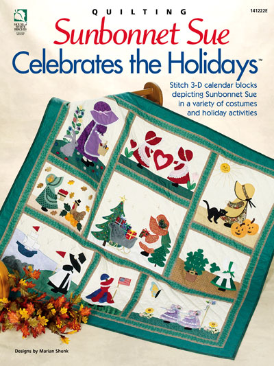 Sunbonnet Sue Celebrates the Holidays