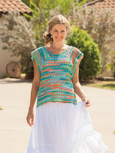 Lahaina Top Crochet Pattern